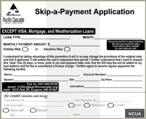 Skip A Payment Application