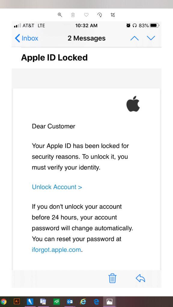 Apple ID Fraud
