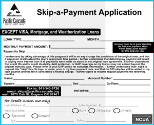 Skip-a-Payment Application